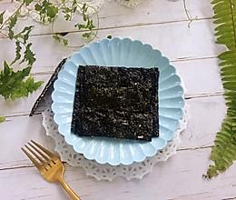 #晒出你的团圆大餐#夹心芝麻海苔的做法