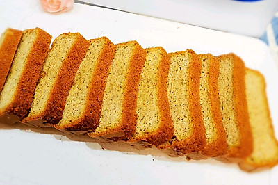 生酮圣品——杏仁磅蛋糕(完全不加面粉)