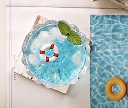 #夏日消暑,非它莫属#泳池雪碧冰饮的做法