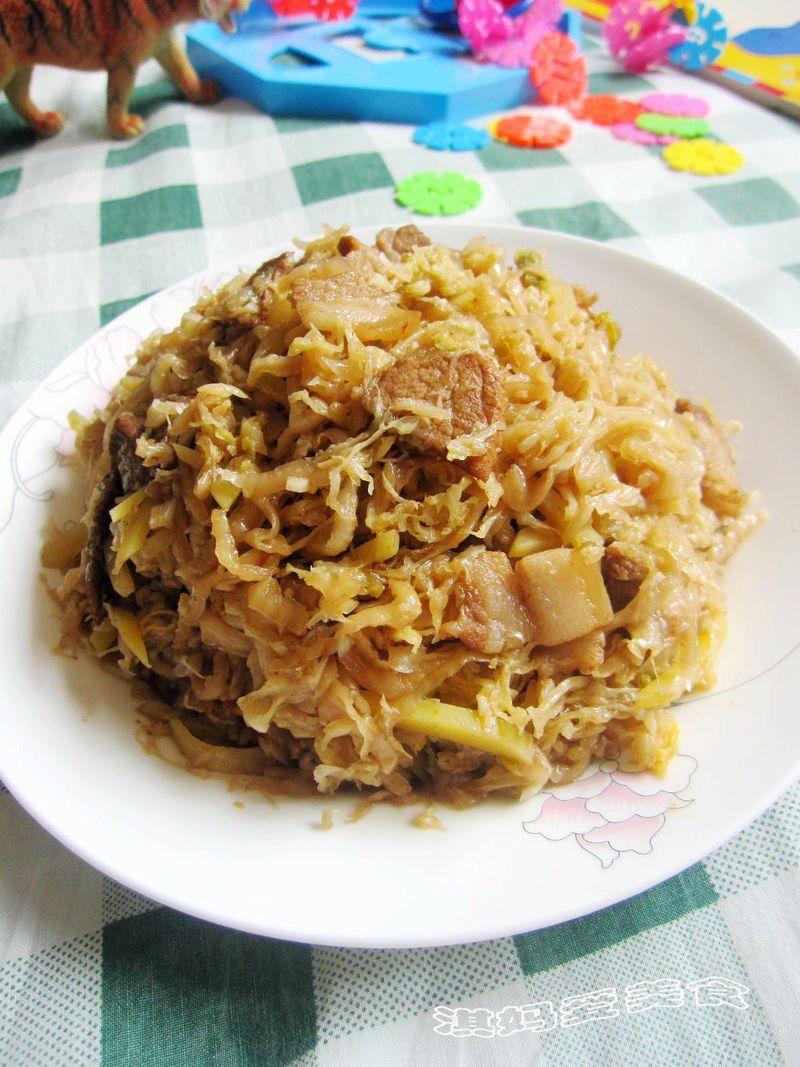 家常炒酸菜