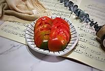 #夏日冰品不能少#番茄新吃法酱汁番茄的做法