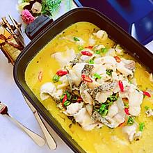 能喝汤的酸菜鱼,金汤鲜椒酸菜鱼