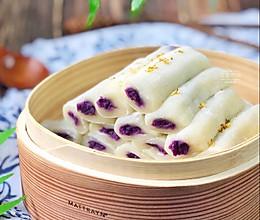 糯米紫薯卷的做法