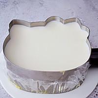 8寸KT猫芒果慕斯蛋糕的做法图解19