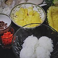 菠萝饭的做法图解3