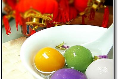 【度元宵】——健康彩色汤圆的做法