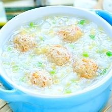 肉丸香米粥