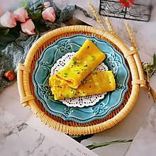 #换着花样吃早餐#玉米面鸡蛋煎饼
