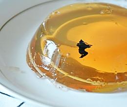 没有防腐剂的乌龙茶果冻的做法
