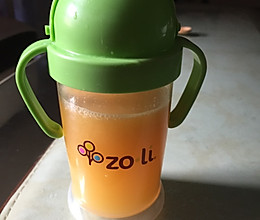 宝宝辅食,补充锌,维生素,苹果橙汁的做法