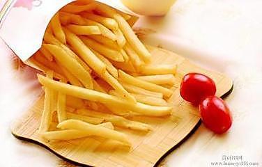 炸薯条薯塔自制极致零食小吃