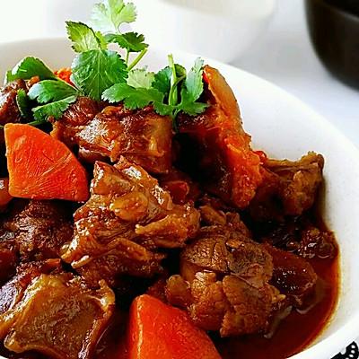 家传美食【酱焖羊肉】