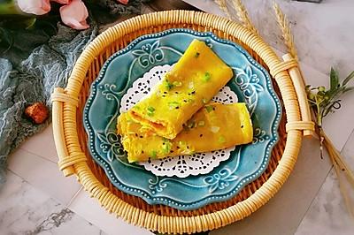 玉米面鸡蛋煎饼