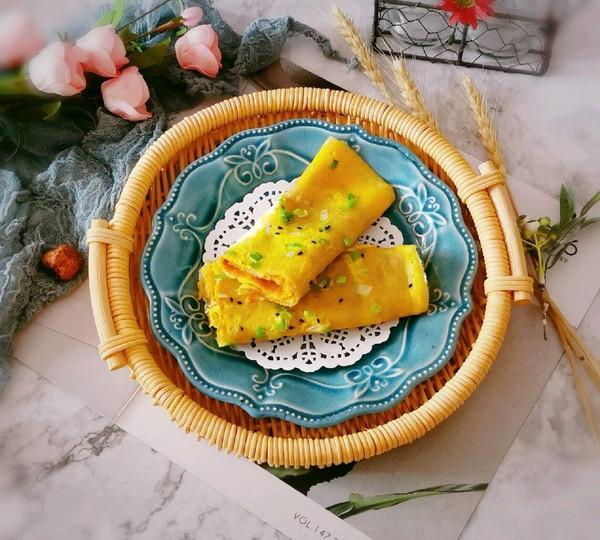 玉米面鸡蛋煎饼的做法