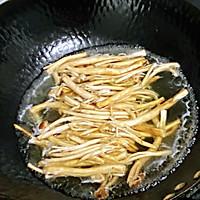 【孕妇食谱】腊肉炒茶树菇,香味扑鼻,味道鲜美超下饭~的做法图解2