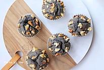 #元宵节美食大赏#黑芝麻汤圆马芬蛋糕   香甜软糯的做法