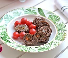 牛肉蔬菜卷 #春天肉菜这样吃!#的做法