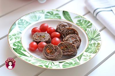 牛肉蔬菜卷 #春天肉菜这样吃!#