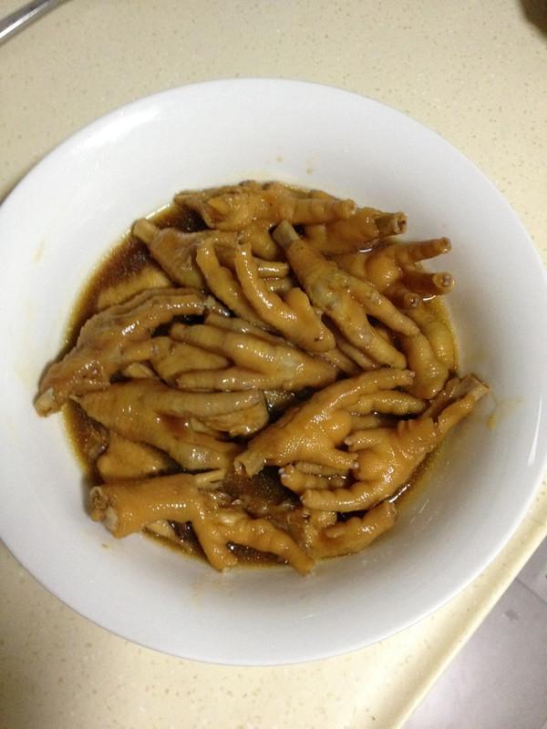 鲍鱼汁凤爪(简单下酒菜)的做法