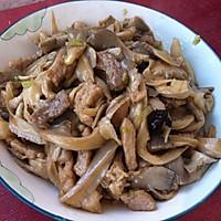 蘑菇炒肉片的做法图解6