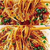 好吃到爆,超下饭的蒜蓉金针菇的做法图解13