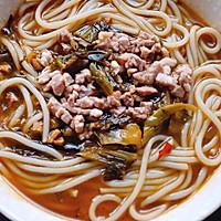 老坛酸菜米线#我要上首页挑战家常菜#的做法图解11