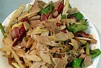 腊肉炒鲜笋的做法