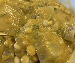 南瓜芋头茨实煲的做法