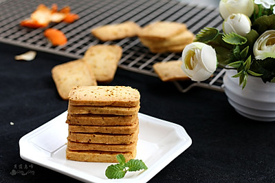橘皮饼干#百吉福芝士力量#