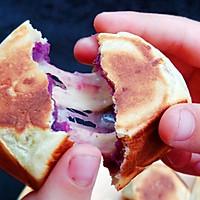 网红糕点——紫薯爆浆芝士仙豆糕#福临门面粉舌尖上的寻味之旅#的做法图解15