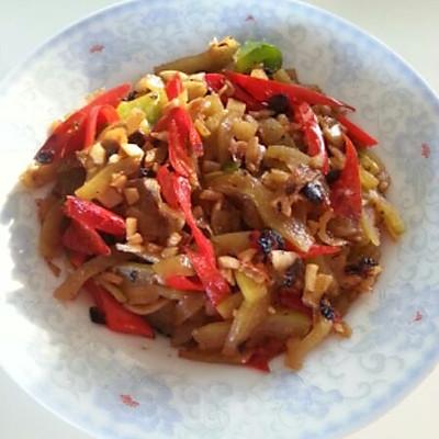 夏季古着味的下饭小菜——豆豉炒西瓜皮