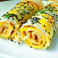 快手早餐—黄金煎饼果子的做法图解3