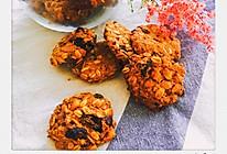 红糖燕麦坚果饼干的做法