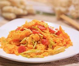 韭黄滑蛋香肠-迷迭香的做法