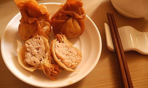 海虾黄金福袋的做法