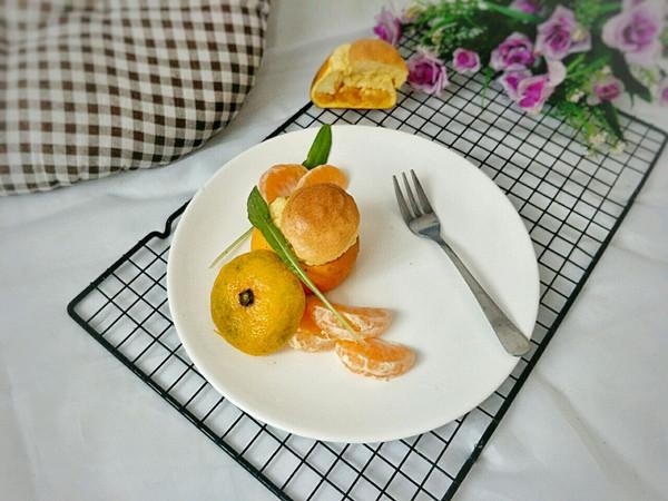 松软橘香海绵蛋糕