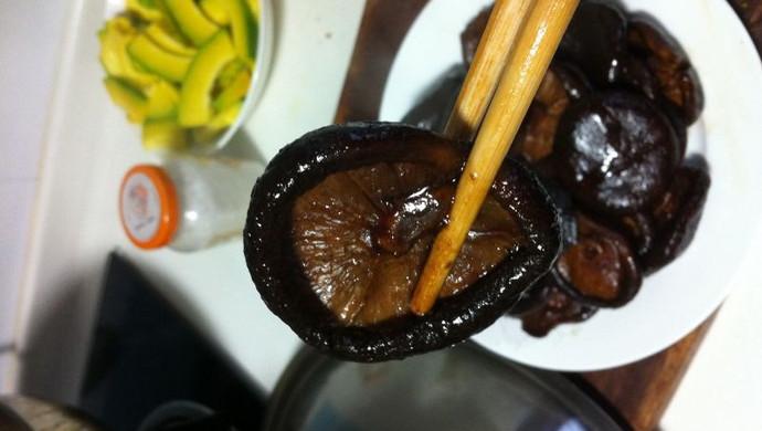 素食-卤香菇,无肉不欢的最佳素食