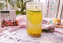 #爱乐甜夏日轻脂甜蜜#百香果青柠水的做法