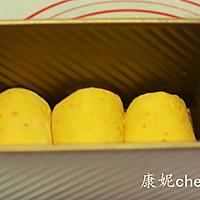 百分百胡萝卜吐司#长帝烘焙节(刚柔阁)#的做法图解7