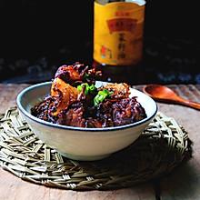 梅干菜粽子烧排骨#金龙鱼外婆乡小榨菜籽油,最强家乡菜#