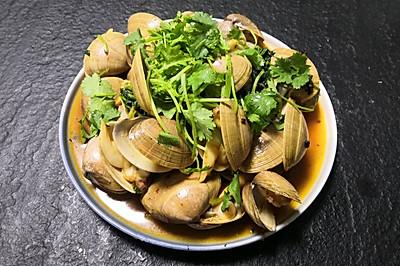 辣炒丹东肥蚬子