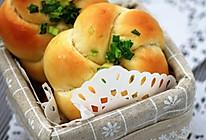 葱香四溢的葱花面包的做法