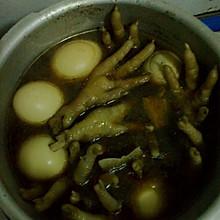 卤水鸡蛋凤爪