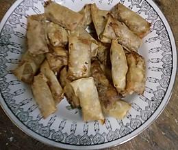 饺子皮版春卷的做法