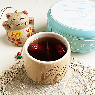 特殊的日子爱自己——红糖姜枣茶