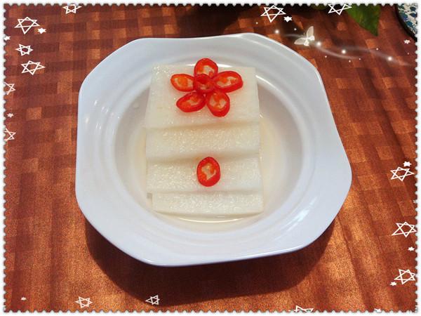 节日解油腻,开胃餐前小菜(自制酸甜萝卜片)的做法