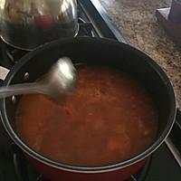 西红柿肉丸汤的做法图解3