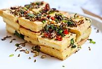 孜然香煎豆腐#我要上首页下饭家常菜#的做法