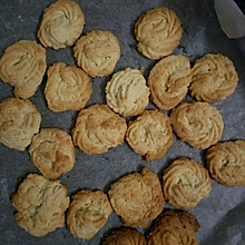 黄油炼奶曲奇饼干