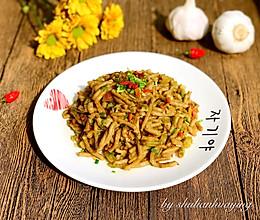 酸菜炒莜面#KitchenAid的美食故事#的做法